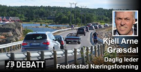 Kjell Arne Græsdal etterlyser tydelig mål i forslaget til Regional transportplan. For eksempel er ikke utbedringer av Hvalerveien tatt med i en plan som strekker seg helt frem til 2050. Arkivfoto: John Johansen