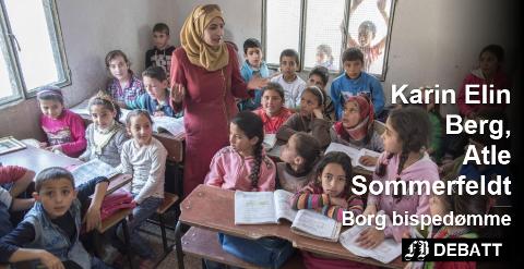 Grusomme scener utspiller seg i Syria, mange er på flukt. Det er trangt om plassen for flyktningebarn som er heldige å få undervisning. Arkivfoto: Unicef