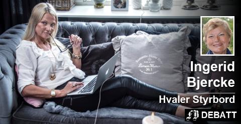 – Påstanden fra Marita W. Hollen om 40 utmeldelser på grunn av pukkverksaken er helt grunnløs, skriver den forrige lederen i Hvaler Høyre, Ingerid Bjercke. Arkivfoto: Geir A. Carlsson