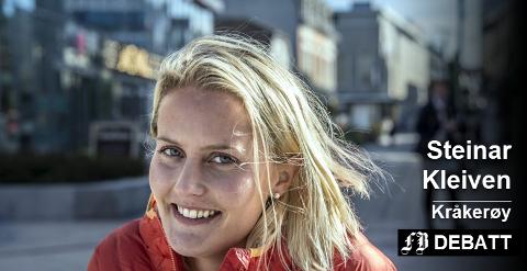 Ina Tangen snakket i FB-intervjuet varmt om sykkelring rundt byen og bilfritt sentrum. –  Om du ikke klarer å integrere bruken av bil i sentrum, klarer du ikke å få et levedyktg område hvor næringslivet skal overleve, er tilbakemeldingen fra Steinar Kleiven.