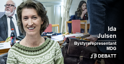 – Er dette en oppmuntring til flere unge kvinner om å delta i samfunnsdebatten? spør Ida Julsen med henvisning til artikler, kommentarfelt og leserinnlegg i FB de siste dagene.