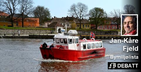 Jan-Kåre Fjeld: – Et godt arbeid er allerede gjort fra kommunens side for å fremme trivsel, glede og nytte av våre vannveier. Denne jobben skal fortsette i årene fremover.