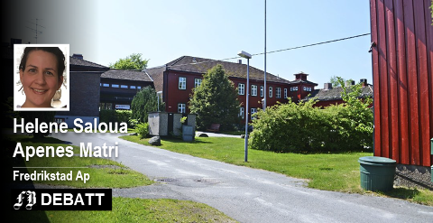 55 sykehjemsplasser er foreslått nedlagt ved Emil Mørchs Minne (bildet) i Borge og Torsnes alders- og sykehjem. Aps nestleder i Helse- og velferdsutvalget skriver at det er et ledd i fornyelse av eldreomsorgen. Arkivfoto: FB