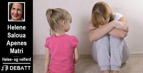 – Forskning viser at barn som vold i familien mest sannsynlig bli preget av opplevelsene resten av livet, forteller Helene Saloua Apenes Matri.
