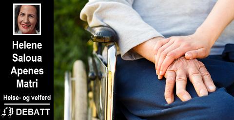 – Fredrikstad kommune skal gi mennesker med nedsatt funksjonsevne mulighet til å leve livene sine på lik linje med andre innbyggere, fastslår Apenes Matri.