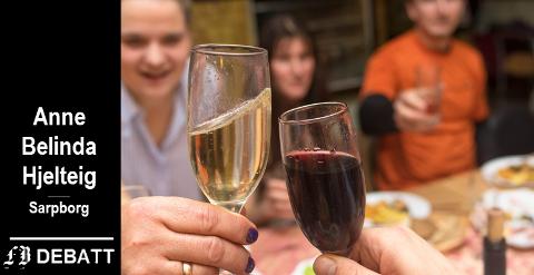 – Det er mange barn som lever under skjult alkoholmisbruk, antageligvis så kjenner vi flere som stadig opplever sine omsorgspersoner i full rus.