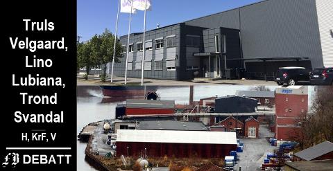 – Både Jackon på Ålekilene og Unger Fabrikker på Nabbetorp er i dag under press på grunn av planer om boligbygging. Det må endres, heter det i innlegget.