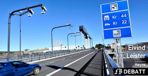 Forhatt og utdatert? Eivind Leister spør om Fredrikstad bør melde seg som foregangsby og innføre veiprising som en mer fremtidsrettet ordning enn bompenger.