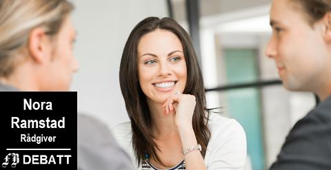 – Snakk med og ikke til, involver istedenfor å fortelle hva og hvordan, er Nora Ramstads oppskrift for samhandling på arbeidsplassen.