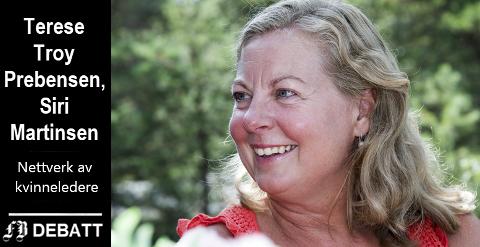 Tidligere Telenor-direktør Berit Svendsen var det store trekkplasteret på det første treffet i Næringsforeningens nettverk av kvinnelige ledere. Kronikkforfatterne kaller det et stykke byhistorie da 90 kvinner møtte opp for å sette kvinnelig ledelse på dagsorden.