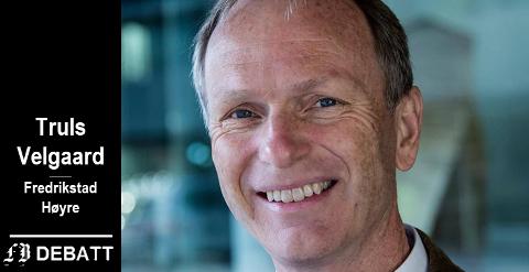 – Arbeiderpartiet blokkerer for en fordomsfri gjennomgang av hvordan Fredrikstads innbyggere kan få bedre og billigere tjenester, skriver Truls Velgaard, ordførerkandidat Fredrikstad Høyre