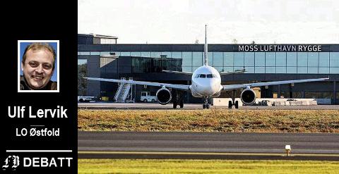 – Frp valgte å heller innføre flypassasjeravgiften enn en liten økning på bensin- og dieselavgiften, skriver Ulf Lervik.