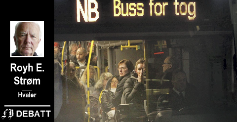–  Etter litt knuffing og noen taktiske bevegelser var vi endelig ombord i bussen.
