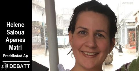 – Klarspråk med mindre sjanse til forvirring er særs viktig, og nettopp derfor mener jeg det er bedre kvalitet at man i vedtaks-/avslagsbrevet opplyser om klageadgangen til fylkesmannen., skriver Helene Saloua Apenes Matri.