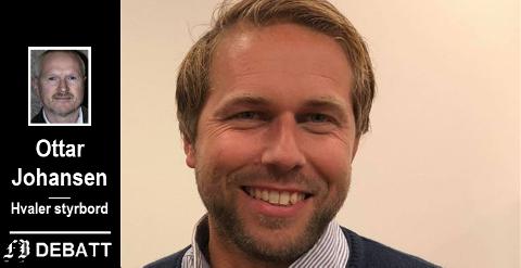 – Bjarte Bjønnes nyter stor respekt både innenfor og utenfor det politiske miljøet for den jobben han gjør, forsikrer Ottar Johansen fra samme parti, Hvaler styrbord.
