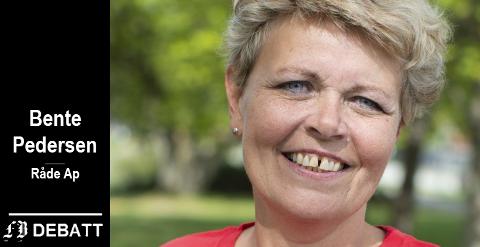 – Heltidskultur gir gode helsetjenester som ivaretar både den ansatte og brukerne, mener Bente Pedersen, ordførerkandidat Råde Ap.