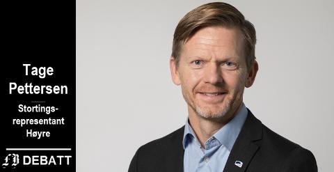 Tage Pettersen, stortingsrepresentant for Høyre i Østfold