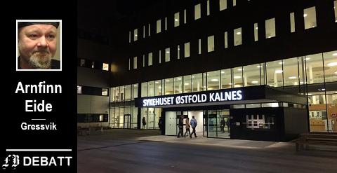 Sykehuset Østfold på Kalnes. Vil det ha kapasitet til også å behandle krenkepsyke?