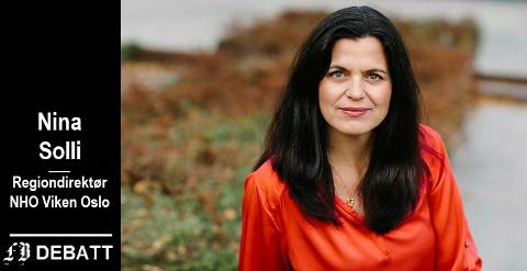 – Intercity vil binde Østlandet sammen. Vi har ikke råd til forsinkelser, mener Nina Solli, regiondirektør NHO Viken Oslo.