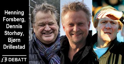 – Evalueringen av FFK etter årets sesong var det vel ingen som skjønte noe av. Per-Mathias Høgmo gikk ut foran sesongen og annonserte opprykk - så evaluerer de internt og til tross for at målsettingen ikke ble nådd, så fortsetter de med samme treneren, skriver trioen Henning Forsberg, Dennis Storhøi, Bjørn Drillestad.