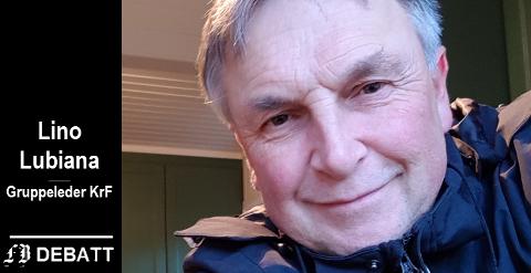Lino Lubiana, gruppeleder Fredrikstad KrF