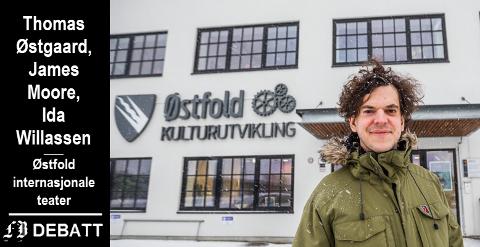 – Teatret skal spille både i resten av Viken og utenfor regionens grenser, men vi ønsker å være tydelige på hvor vi kommer fra og stolte av det, skriver teatersjef Thomas Østgaard sammen med teatrets produsent og kommunikasjonsansvarlige.