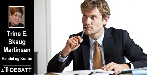 –  Det ser ikke ut som arbeidslivet blir bedre og mer sivilisert. Trusler og trakassering fra sjefer er slettes ikke så uvanlig som du tror, skriver Trine E. Skaug Martinsen.