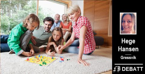 – Sett familien øverst på prioriteringslista nå. Kjenn på hvordan det er å virkelig være sammen, er et av forslagene til å gjøre det mindre kjedelig å bidra til at folk holder seg friske.