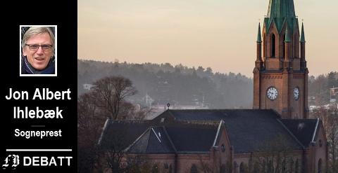 Stille fra tårnet.   – Men det er også en usynlig kirke der mennesker i det stille viser omsorg og utfører diakoni, heter det i Ihlebæks innlegg.