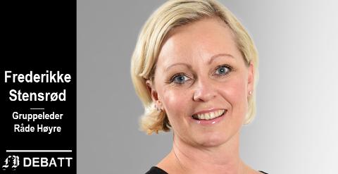 –  Vi har en plikt til å etterprøve vaffelsteking og yatzy når vi ser at budsjettene for spesialundervisning skyter i været uten resultater, skriver Frederikke Stensrød, gruppeleder Råde Høyre.