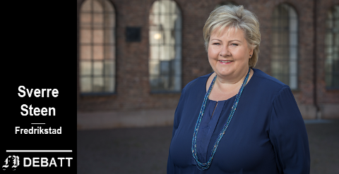 Statsminister Erna Solberg er øverste ansvarlige av dem som er satt til å foreta de ubehagelige avveiningene. –   Avgjørelsene må tas og vi må håpe det beste, fastslår brevforfatteren.