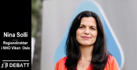 – Jeg mener vi trenger samferdselsløsninger som binder Viken og Oslo sammen, skriver  Nina Solli.