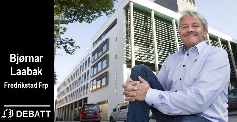 – Jeg ber om at redaktøren redegjør for hvilken plan som dokumenterer at det skal etableres 50 statlige arbeidsplasser i Fredrikstad, heter det i Laabaks innlegg.