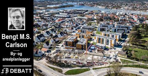 BOR TETTERE: – Det arealplanmessige svaret på koronakrisen er ikke en ytterligere spredning av boliger og mennesker, skriver Bengt M.S. Carlson.