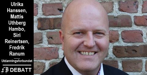 Leder Victor Kristiansen fikk flertall for forslaget som etter Udanningsforbundets mening må være en sak for både kommunens kontrollutvalg og Fylkesmannen..