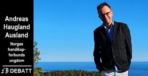 «HISTORIENS SKAM»: Et kaldt gufs fra fortidens sentralinstitusjoner, er Andreas Haugland Auslands karaktertistikk av Fredrikstad kommunes planer om avlastningssenter på Furutun.