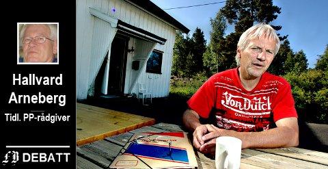 Pål Nordberg var lærer på Pynten, en skole for barn med særlige behov, i 18 år, her på et bilde fra 2006. I innlegget får han kritikk for å sverge til et skoletilbud som tar en gruppe elever ut av klassefellesskapet.