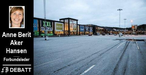 Stille ved Norby kjøpesenter og veldig vekst i handelen på norsk side gir et tydelig svar, mener forbundslederen i NNN.