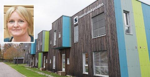 INNTEKTSTAP: Flere studenter sier opp leieavtalen i studentboligene knyttet til Campus Vestfold. Presseansvarlig ved studentsamskipnaden i Sørøst-Norge, Heidi Pettersen, sier at det kan bli dramatisk for SSN.