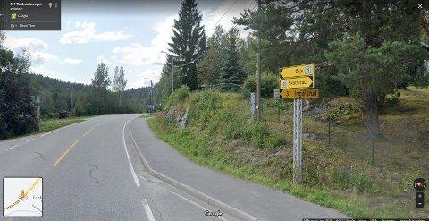 ANLEGGSARBEID: Fylkesvei 21 mellom Skotterud og fylkesgrensa mot Viken får redusert fremkommelighet det kommende året.