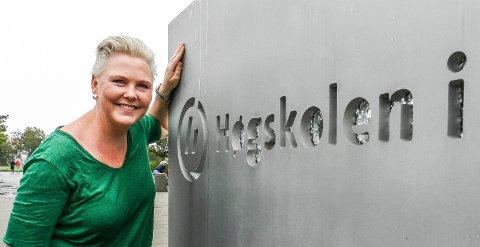LOVER: Anne Beathe Kristiansen Tvinnereim regner seg som haldenser og lover å jobbe for Halden og Aremark i Viken.