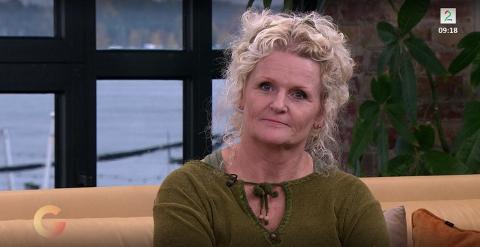 Elisabeth Jensen fra Halden, men bosatt i Skogmesterboligen i Aremark, var gjest i TV2-programmet onsdag morgen.