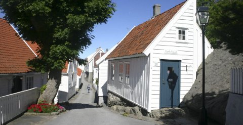 NAVNEFORVIRRING: Det råder uenighet om man kan kalle Skudeneshavn.