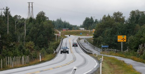 FARTSKONTROLL: Det var i 70-sonen ved Mjåsund bru UP hadde fartskontroll tirsdag. Arkivfoto: Alf-Robert Sommerbakk