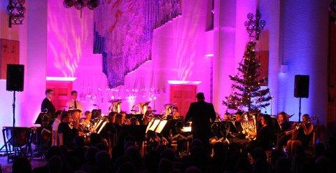 Søndag ettermiddag er Borge Brass Band klar for julekonsert i Borge kirke