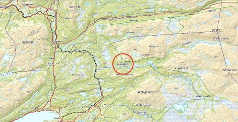 BRANN: Nødetatene har rykket ut til Lurudalen i Grong og Snåsa, etter å ha fårr melding om brann i ei jakthytte.