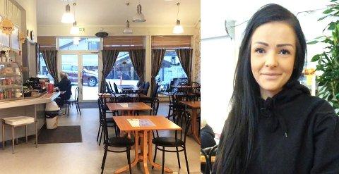 Ved nyttår overtar Sigrid Helene Bakkeli kafeen på Lyngseidet. Foto: Privat