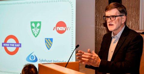 INGEN ALTERNATIVER: - Det er ikke noe alternativ å fortsette som før. Vi blir færre ansatte, fastslår rådmann Arne Skogsbakken i Søndre Land.