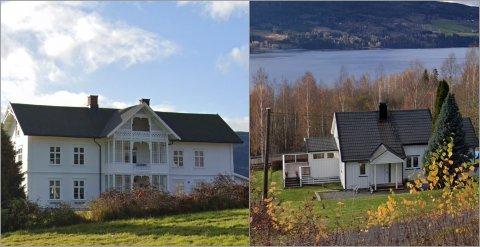 LIKE: Gården Bjørnerud i Fluberg og bolighuset i Fall ble begge solgt for 2,2 millioner i mars.