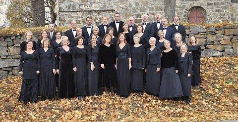 OPPTRER: Bærum Bachkor blir å høre sammen med Follo Sinfonietta i Ås kirke lørdag.